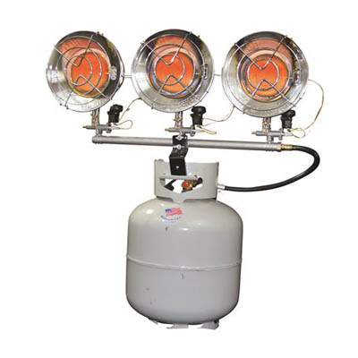 3 - Heater Triple Head